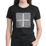 Celtic Square Cross Women's Dark T-Shirt