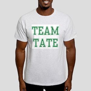 TEAM TATE  Ash Grey T-Shirt