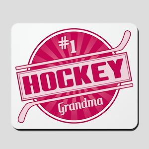 #1 Hockey Grandma Mousepad