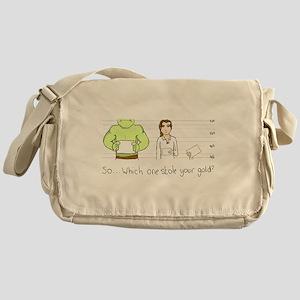 Mugshot Messenger Bag