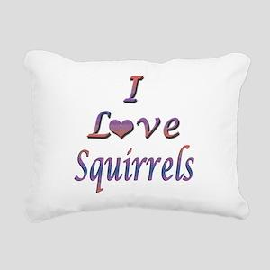 squirrels Rectangular Canvas Pillow