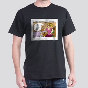 A Touch of Humor Too Much Coffee Massage Comic T-S