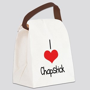 Chapstick Canvas Lunch Bag