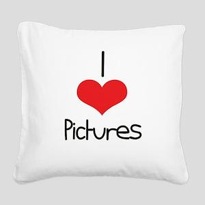 Pictures Square Canvas Pillow