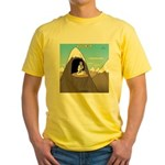 Antisocial Media Yellow T-Shirt