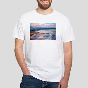 Monterey Blue Blocker White T-Shirt