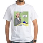 Bald Advantage No. 2 White T-Shirt