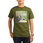 Bald Advantage No. 2 Organic Men's T-Shirt (dark)