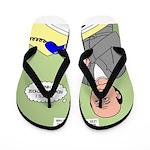 Bald Advantage No. 2 Flip Flops