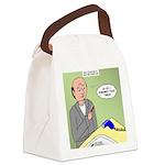 Bald Advantage No. 2 Canvas Lunch Bag
