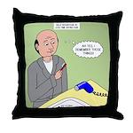 Bald Advantage No. 2 Throw Pillow