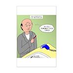 Bald Advantage No. 2 Mini Poster Print