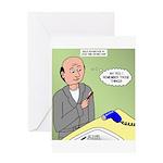 Bald Advantage No. 2 Greeting Card