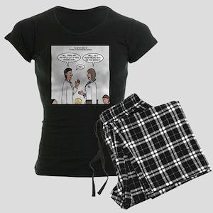 Pediatrician Quandry Women's Dark Pajamas