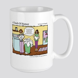 A Touch of Humor Massage Laundry Comic Mug