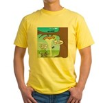 Fraidy Cat Yellow T-Shirt