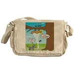 Fraidy Cat Messenger Bag