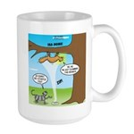 Fraidy Cat Large Mug