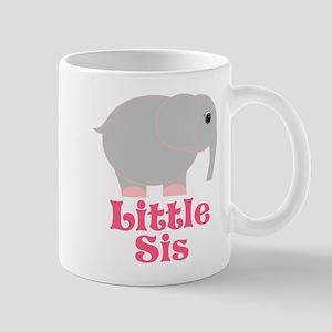 Little Sis Elephant Mug