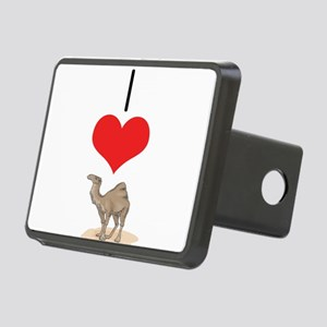 heart-camel Rectangular Hitch Cover
