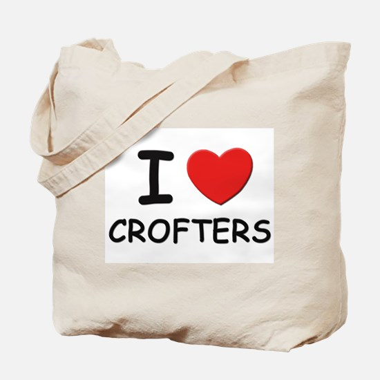 I love crofters Tote Bag