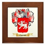 Capriotti Framed Tile