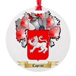 Caprini Round Ornament
