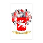 Caprini Sticker (Rectangle 50 pk)