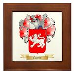 Caprin Framed Tile