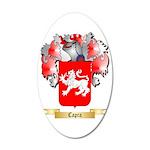 Capra 35x21 Oval Wall Decal
