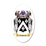 Cappuza 35x21 Oval Wall Decal