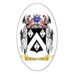 Cappuccini Sticker (Oval 50 pk)