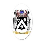 Cappucci Oval Car Magnet