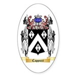 Cappucci Sticker (Oval 50 pk)
