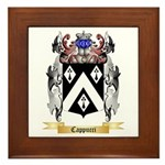 Cappucci Framed Tile