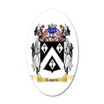 Cappini 20x12 Oval Wall Decal