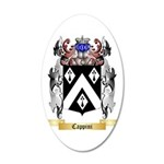 Cappini 35x21 Oval Wall Decal