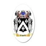 Cappilli 35x21 Oval Wall Decal