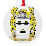Capper Round Ornament