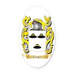 Capper Oval Car Magnet