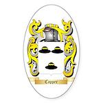Capper Sticker (Oval 50 pk)