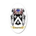 Cappellozzi 35x21 Oval Wall Decal