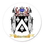 Cappellini Round Car Magnet