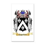 Cappellieri Rectangle Car Magnet
