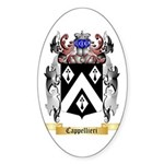 Cappellieri Sticker (Oval 10 pk)