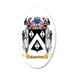 Cappellieri 35x21 Oval Wall Decal