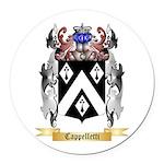 Cappelletti Round Car Magnet