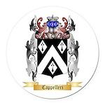 Cappelleri Round Car Magnet