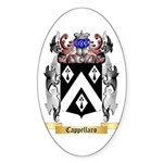 Cappellaro Sticker (Oval 50 pk)