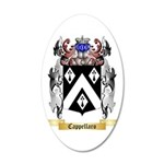 Cappellaro 35x21 Oval Wall Decal